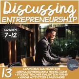 Entrepreneurs and Entrepreneurship- A Conversation Class