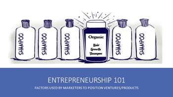 Entrepreneurship 101:  Factors Used By Marketers To Position Ventures/Products