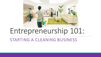 Entrepreneurship 101:  Starting A Cleaning Business