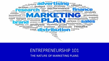 Entrepreneurship 101:  The Nature of Marketing Plans