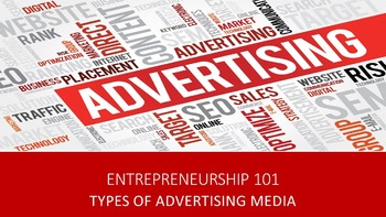 Entrepreneurship 101:  Types of Advertising Media Lesson
