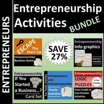 Entrepreneurship Activities BUNDLE