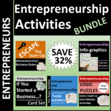 Entrepreneurship Activities Bundle SAVE 32%
