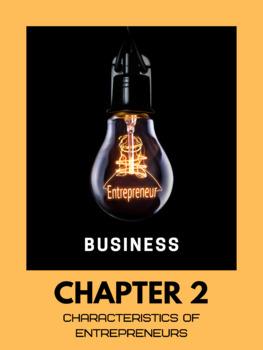Entrepreneurship (Business) - Chapter 2 (Grade 11)