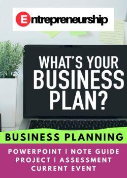 Entrepreneurship Chapter 6 Business Planning