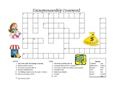 Entrepreneurship Crossword