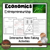 Entrepreneurship - Interactive Note-taking Activities
