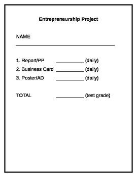 Entrepreneurship Project