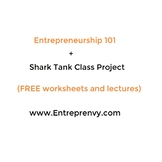 Entrepreneurship activity (SHARK TANK class project)