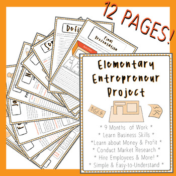 Entreprenuer Business Packet