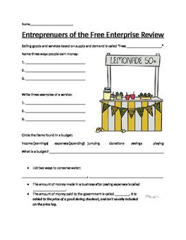 Entrepreneurs of the Free Enterprise System Review