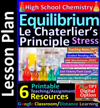 Entropy & Equilibrium, Le Chatelier's Principle -  Guided Study Notes for Chem