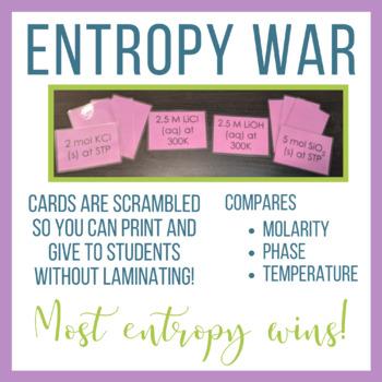 Entropy War Activity