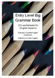 Entry Level Big Grammar Book 101 worksheets for English lessons