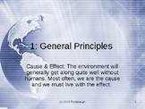 Env. Bio. - Lecture 1 - General Principles