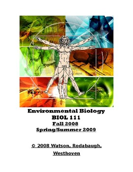 Env. Biology - Laboratory Exercises