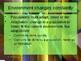 Env. Biology - Lecture 10 - Genetics & Environment