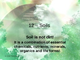 Env. Biology - Lecture 12 - Soils