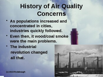 Env. Biology - Lecture 17 - Air Pollution