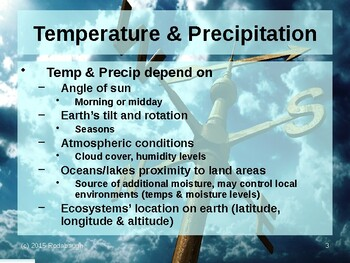 Env. Biology - Lecture 8 - Ecosystems & Climate
