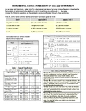 Env Sci- Soil permeability and runoff calculations handout