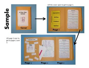 Envelope Book Templates