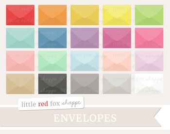 Envelope Clipart; Mail, Letter, Stationery