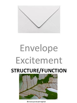 Envelope Excitement: Structure and Function