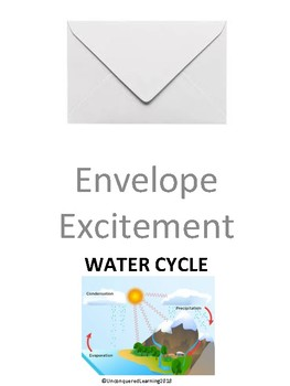 Envelope Excitement: The Water Cycle