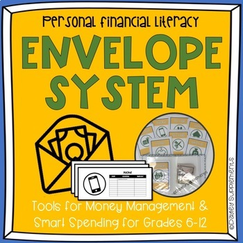 envelope system budget financial literacy by dayley supplements