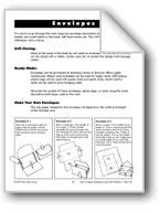 Envelopes and Decorating Techniques