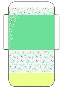 Envelopes for letters or messages