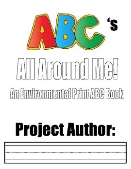 Enviornmental Print Project Book