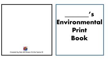 Enviromental Print Book