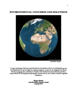 Environment: 79 Activities for teaching Climate Change, En