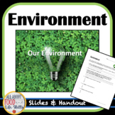 Environment- Being a Wise Consumer with the Environment