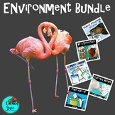 Environment Bundle   Project Based Learning Climate Change NGSS