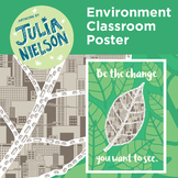 Environment Change Classroom Poster