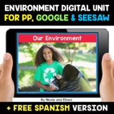 Environment Digital Activities for Google and Seesaw - Dis