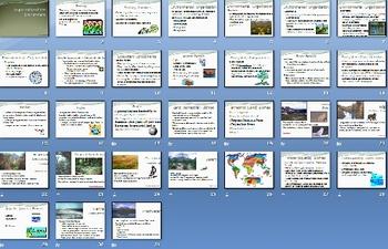 Environment Ecology Smartboard Notebook Presentation Lesson Plan