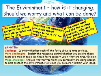Environment + Environmental Issues