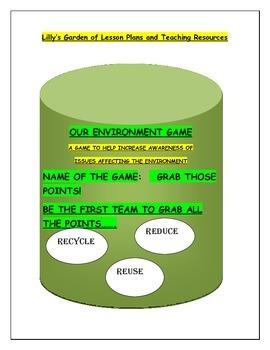 Environment Game