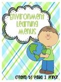 Environment Learning Menus