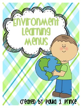 Environment Learning Menus