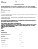 Environment Nature Podcast Project Rubric IB Spanish or Spanish 3 or Spanish 4