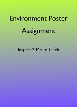 Environment Poster Assignment