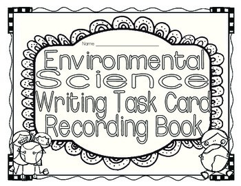 Environment Science Task Card Center