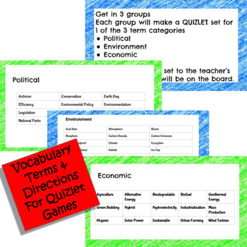 Environment Study Project: ELA & Science Digital: Google Classroom