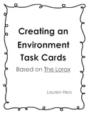 Environment Task Cards about The Lorax