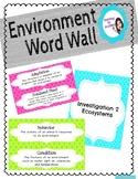 Environment Word Wall